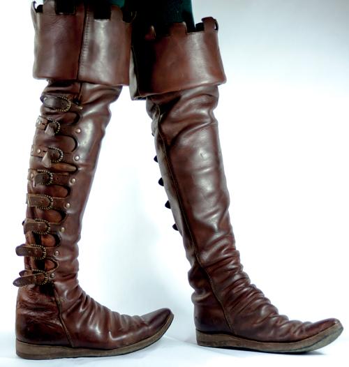 Boots - Period Boots Cuir F. L.